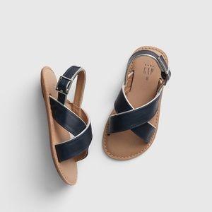 Toddler Cross-Strap Sandals
